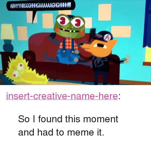 """Meme It: <p><a href=""""http://insert-creative-name-here.tumblr.com/post/158706545872/so-i-found-this-moment-and-had-to-meme-it"""" class=""""tumblr_blog"""">insert-creative-name-here</a>:</p><blockquote><p>So I found this moment and had to meme it.</p></blockquote>"""