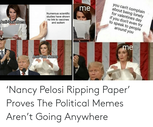Nancy Pelosi: 'Nancy Pelosi Ripping Paper' Proves The Political Memes Aren't Going Anywhere