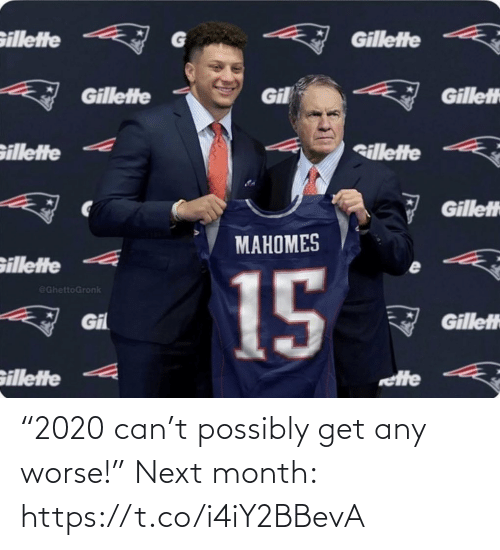 """NFL: """"2020 can't possibly get any worse!""""   Next month: https://t.co/i4iY2BBevA"""