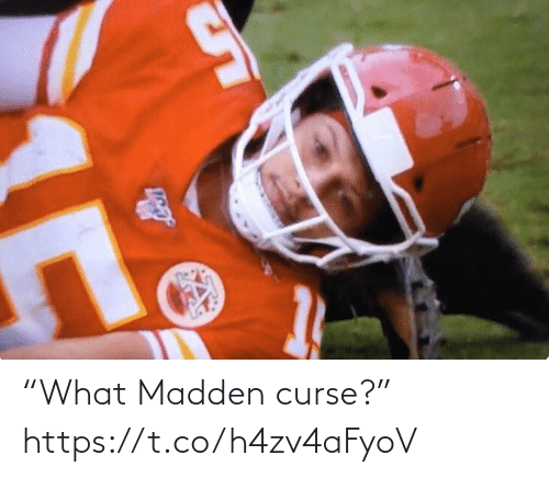 "Football, Nfl, and Sports: ""What Madden curse?"" https://t.co/h4zv4aFyoV"