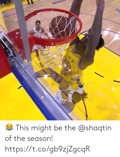 this: 😂 This might be the @shaqtin of the season!   https://t.co/gb9zjZgcqR