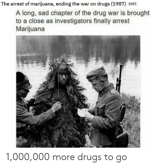 Drugs: 1,000,000 more drugs to go
