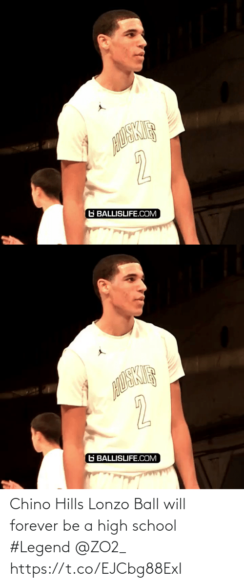 high school: 2  G BALLISLIFE.COM   2  G BALLISLIFE.COM Chino Hills Lonzo Ball will forever be a high school #Legend @ZO2_ https://t.co/EJCbg88ExI