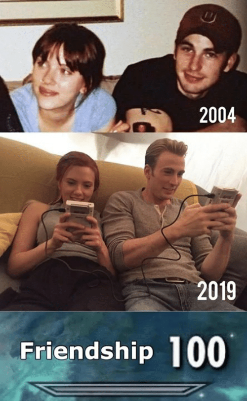 Memes, Friendship, and 🤖: 2004  2019  Friendship 100