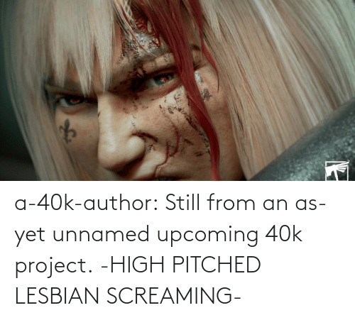 40k: a-40k-author:  Still from an as-yet unnamed upcoming 40k project.   -HIGH PITCHED LESBIAN SCREAMING-