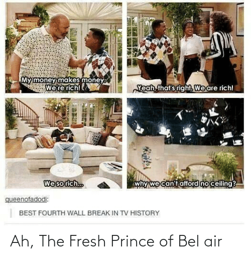Ah: Ah, The Fresh Prince of Bel air