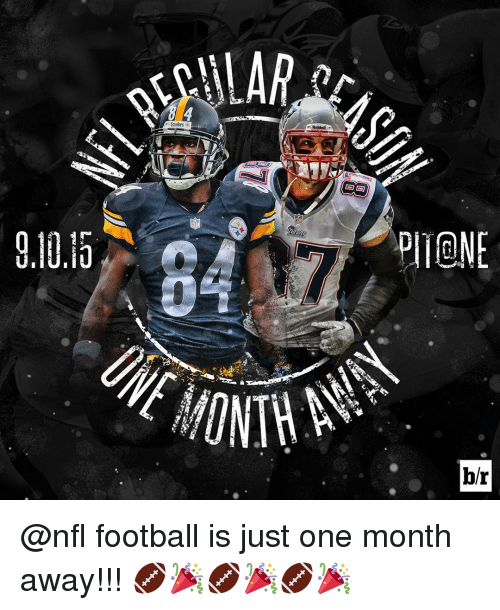 Nfl Football: ALAR  Steelers  Riddell  br @nfl football is just one month away!!! 🏈🎉🏈🎉🏈🎉