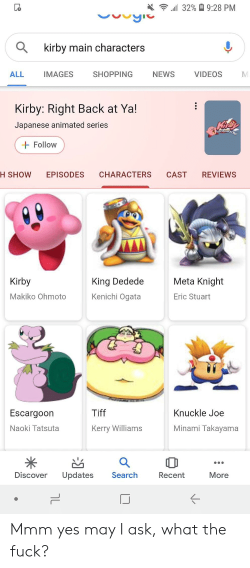 All 32% 928 PM Kirby Main Characters ALL IMAGES SHOPPING