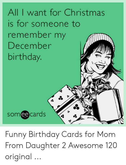 Birthday Christmas And Funny All I Want For Is Someone To