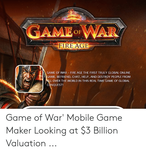 AMEWAR D OF FLRE AGE GAME OF WAR FIRE AGE THE FIRST TRULY