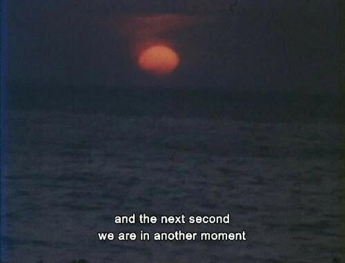 Another, Next, and Moment: and the next second  we are in another moment