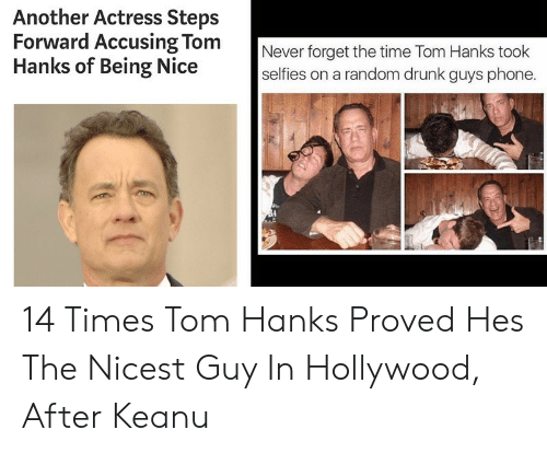 Another Actress Steps Forward Accusing Tom Hanks of Being