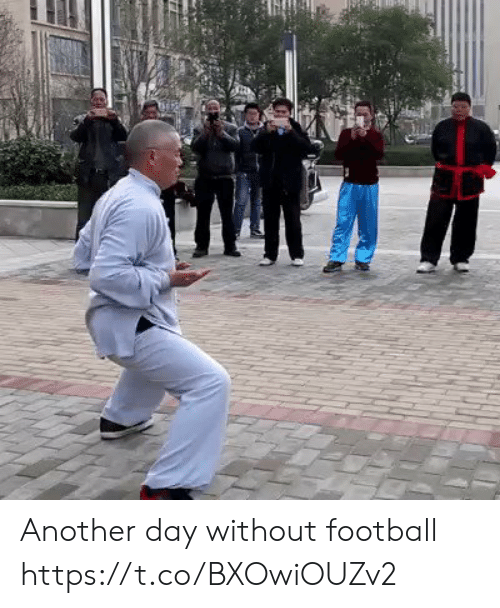 Football, Memes, and 🤖: Another day without football  https://t.co/BXOwiOUZv2