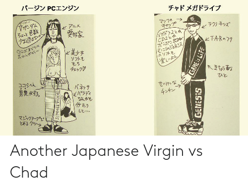 Virgin: Another Japanese Virgin vs Chad