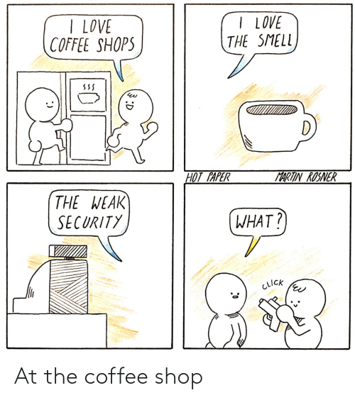 shop: At the coffee shop