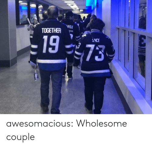 Tumblr, Blog, and Wholesome: awesomacious:  Wholesome couple