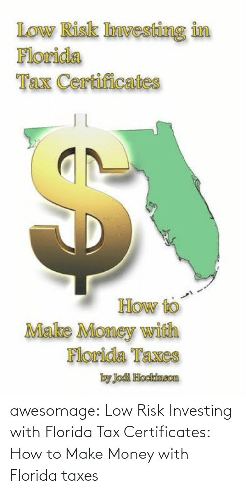 amazon.com: awesomage:  Low Risk Investing with Florida Tax Certificates: How to Make Money with Florida taxes
