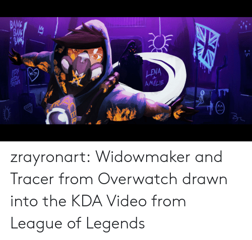 BANG BAK LENA AMELIE 2 Zrayronart Widowmaker and Tracer From