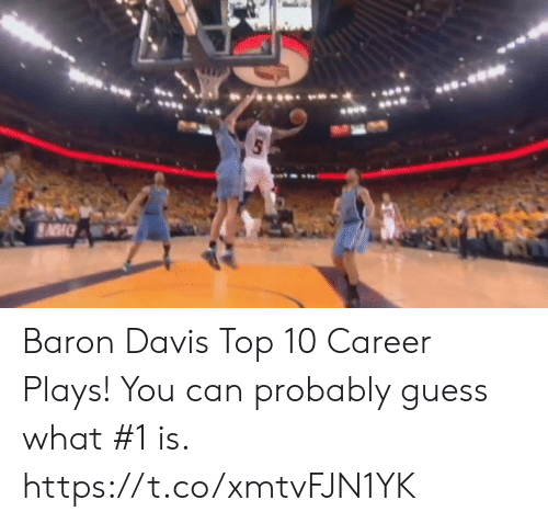loveforquotes.com: Baron Davis Top 10 Career Plays! You can probably guess what #1 is.   https://t.co/xmtvFJN1YK