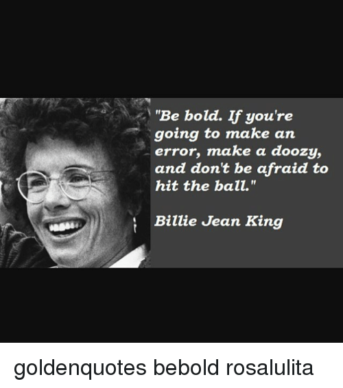 an introduction to the life of billie jean king But billie jean was diferent and launched him to international stardom because of director steve barron's incredible music video but when the video for billie jean was submitted to the station, co-founder of mtv les garland recalled putting the video up that very day, even though it featured a.