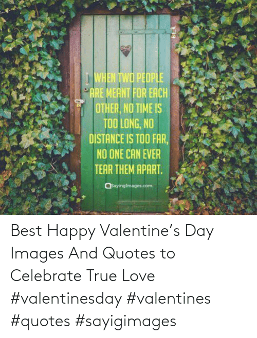 Happy: Best Happy Valentine's Day Images And Quotes to Celebrate True Love #valentinesday #valentines #quotes #sayigimages