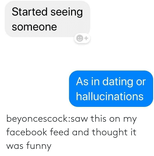 Saw: beyoncescock:saw this on my facebook feed and thought it was funny