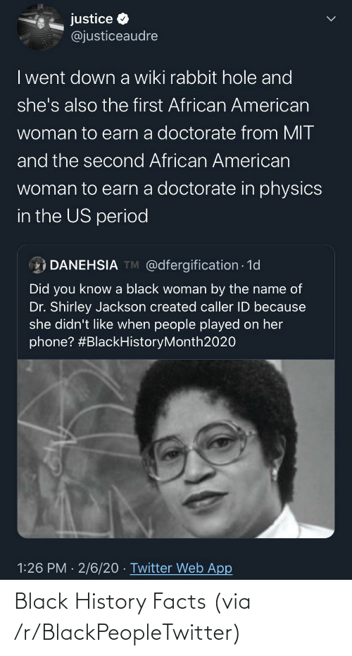 R: Black History Facts (via /r/BlackPeopleTwitter)