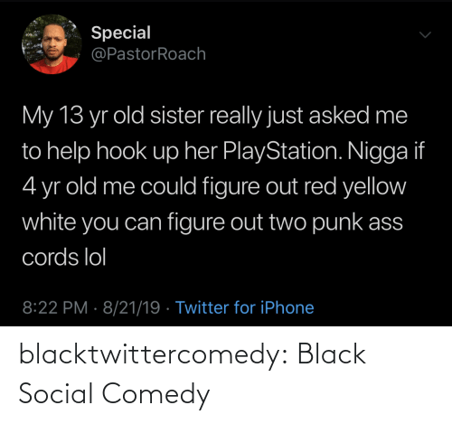 tumblr: blacktwittercomedy:  Black Social Comedy