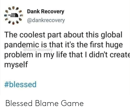 blessed: Blessed Blame Game
