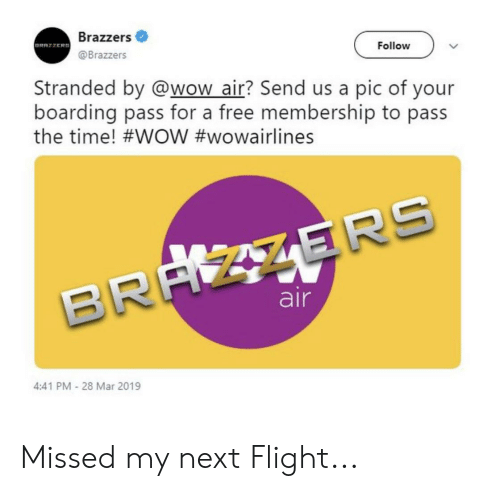 Reddit Wow And Brazzers Brazzers Brazzers Follow Stranded By Wow_air