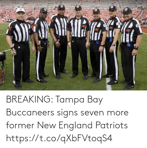 Patriotic: BREAKING: Tampa Bay Buccaneers signs seven more former New England Patriots https://t.co/qXbFVtoqS4