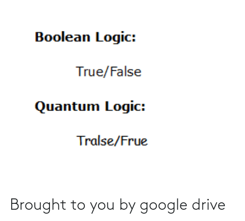 Drive: Brought to you by google drive