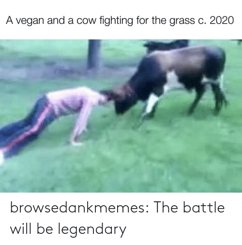 will: browsedankmemes:  The battle will be legendary