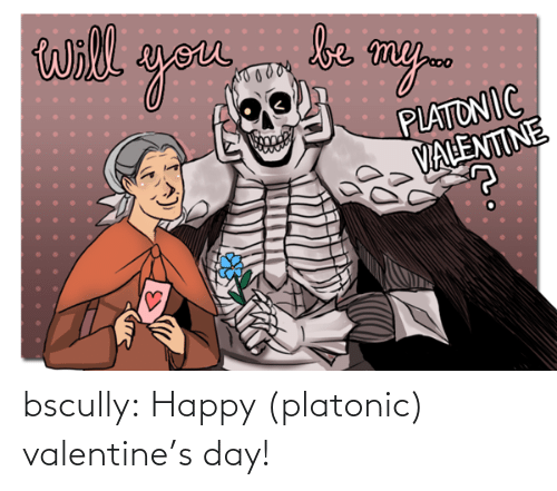tumblr: bscully:  Happy (platonic) valentine's day!