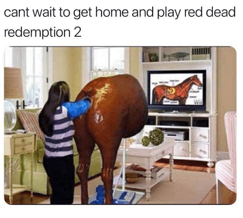 Home, Red Dead Redemption, and Red Dead: cant wait to get home and play red dead  redemption 2