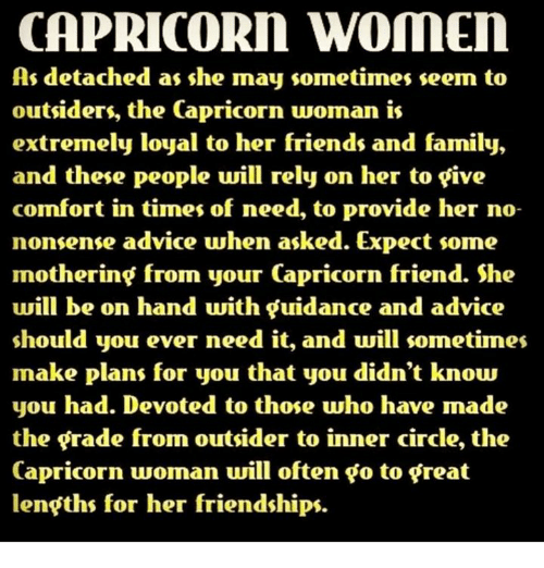 Capricorn woman hurt