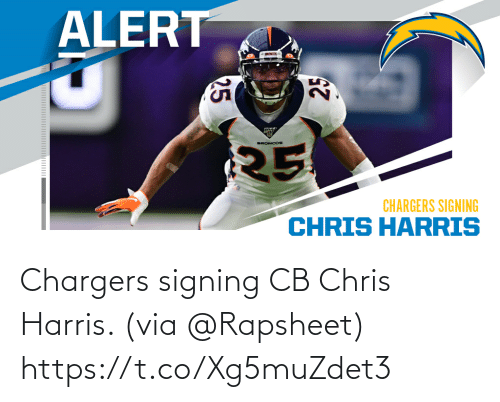 via: Chargers signing CB Chris Harris. (via @Rapsheet) https://t.co/Xg5muZdet3
