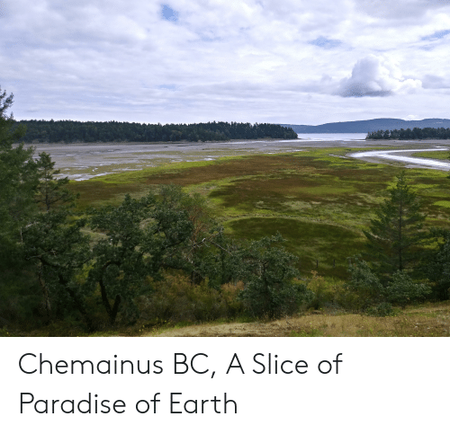 Paradise, Earth, and Slice: Chemainus BC, A Slice of Paradise of Earth