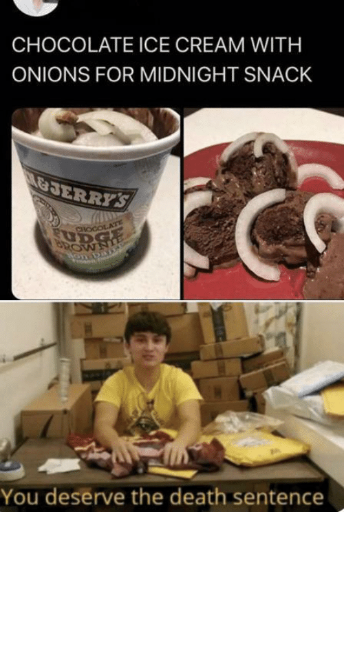 cream: Chocolate ice cream with what now by tractornucleareactor MORE MEMES