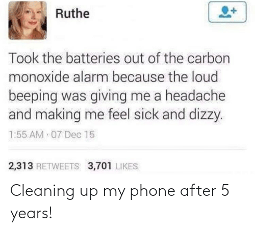 Phone: Cleaning up my phone after 5 years!