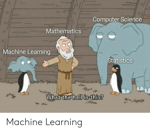 Statistics: Computer Science  Mathematics  Machine Learning  Statistics  What the hell is this? Machine Learning