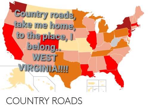 country: COUNTRY ROADS