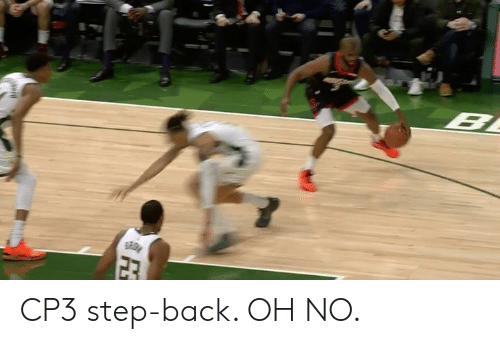 Back, Step, and Oh No: CP3 step-back. OH NO.