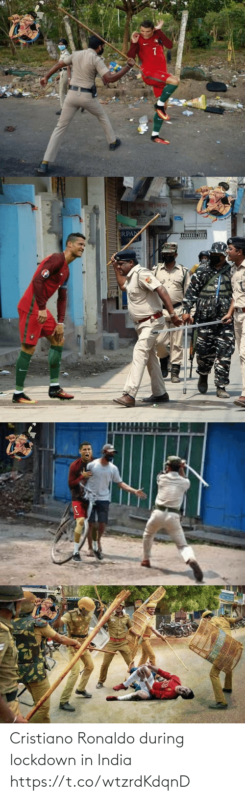 During: Cristiano Ronaldo during lockdown in India https://t.co/wtzrdKdqnD