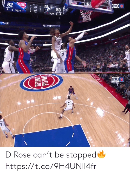 Https: D Rose can't be stopped🔥 https://t.co/9H4UNII4fr