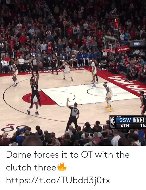 The: Dame forces it to OT with the clutch three🔥 https://t.co/TUbdd3j0tx