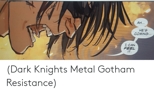 Metal: (Dark Knights Metal Gotham Resistance)