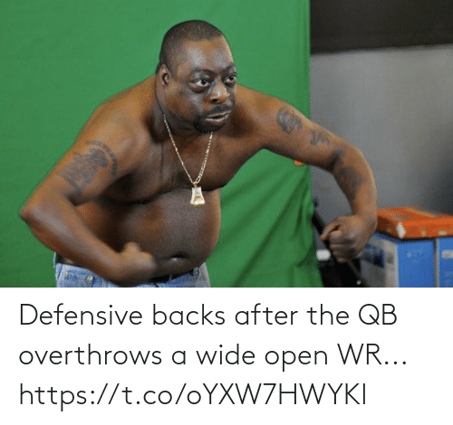 After: Defensive backs after the QB overthrows a wide open WR... https://t.co/oYXW7HWYKl