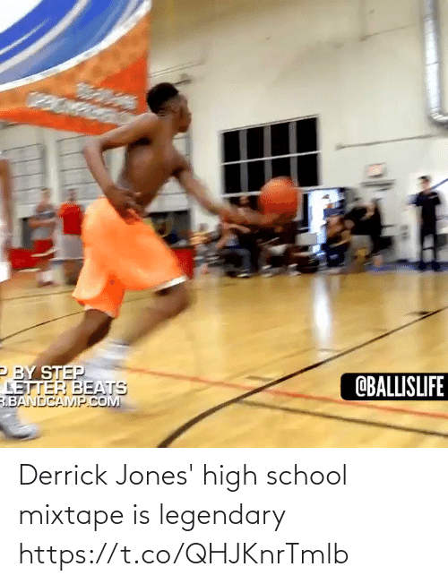 high school: Derrick Jones' high school mixtape is legendary https://t.co/QHJKnrTmlb