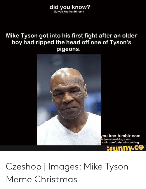 Mike Tyson Christmas Meme.25 Best Memes About Mike Tyson Christmas Mike Tyson